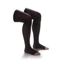 Sheer Thigh High Open-Toe Women