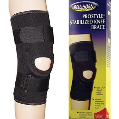 Stabilized Knee Brace
