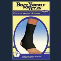 Elastic Ankle Support Black