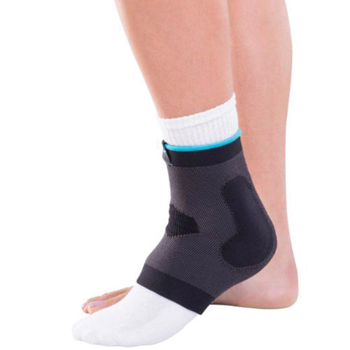 Deluxe Elastic Ankle, Black