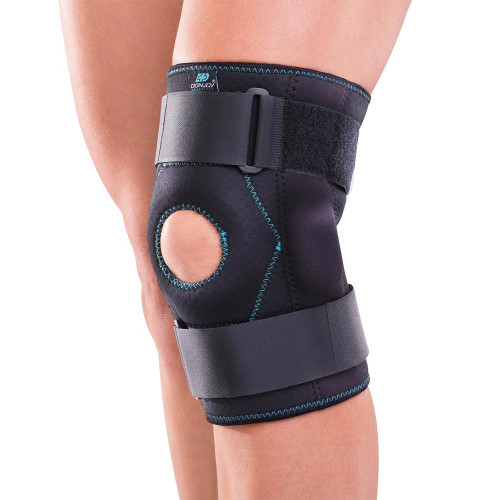 Stabilizing Hinged Knee Wrap