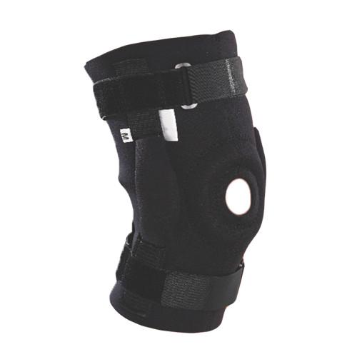Wrap-Around Hinged Knee Support