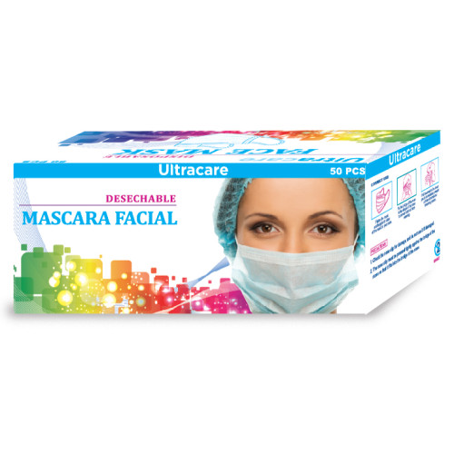 Ultracare Disposable Face Mask 50