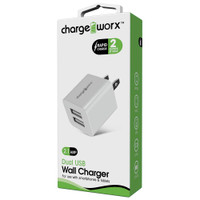 Chargeworx Dual USB Wall Charger