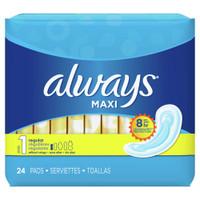 Always Maxi Regular Nonwing 24ct