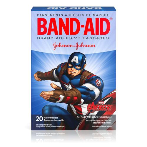Band-Aid Marvel Avengers Bandages