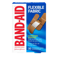 Band Aid Assorted Flexible Fabric