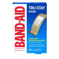 Band Aid Sheer Strips