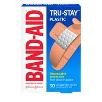 Bandaid Tru-Stay Plastic Assorted