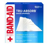 Band Aid Tru-Absorb 4 X 4 Gauze
