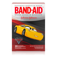 Band-Aid Disney Cars Assorted Sizes