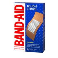Band-Aid Tough Strips 5X Stronger