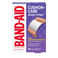 Band-Aid Cushion-Care Sport Strip