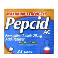 Pepcid AC Maximum Strength Tab 25ct