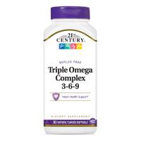 Triple Omega Softgel Complex