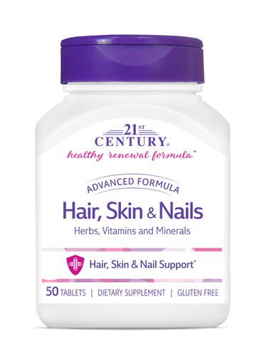 Hair,Skin & Nails Tab