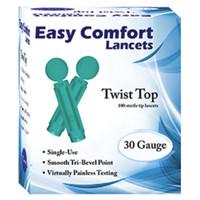 Easy Comfort Twist Top Lancets 30G