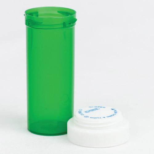 Vials 16 DR Green Reversible Dual