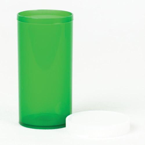 Vials 13 DR Green Snap Cap