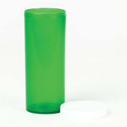 Vials 16 DR Green Snap Cap