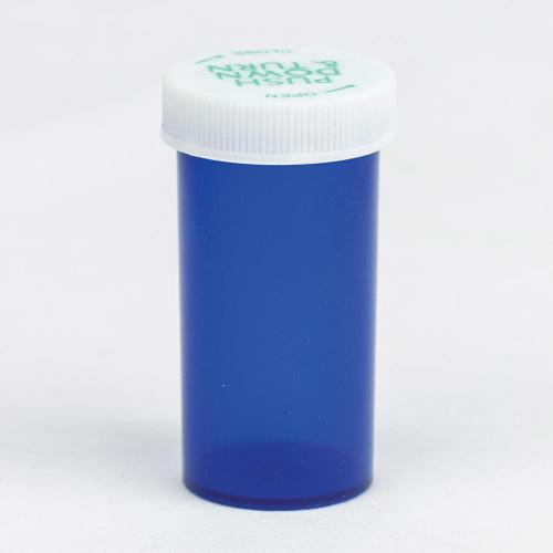Vials 13 DR Blue Palm N Turn