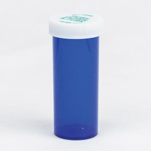 Vials 16 DR Blue Palm N Turn