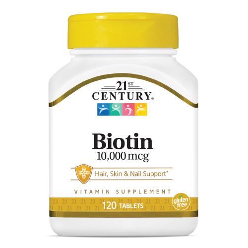 Biotin 10,000 mcg Tab