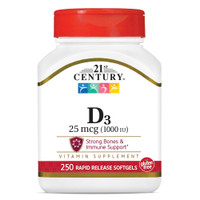Vitamin D 1000iu Softgel 250ct