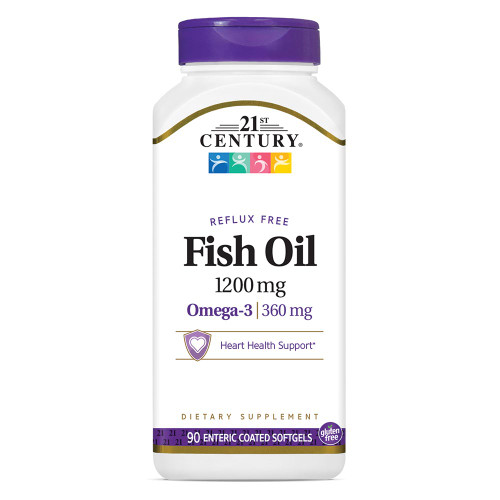 Fish Oil 1200 mg Enteric Coated S