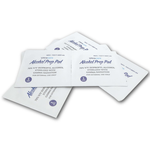 Ultracare Alcohol Prep Pads - 100ct