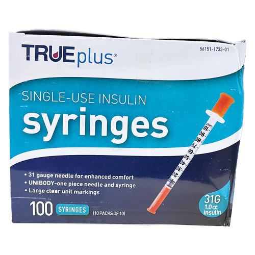 TRUEplus Insulin Syringe